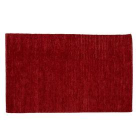 Tapis laine de Nouvelle-Zélande rouge 170 x 120 cm Bori