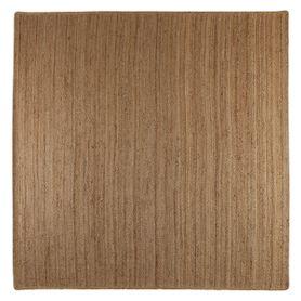 Tapis en chanvre naturel 200 cm carré Mingo