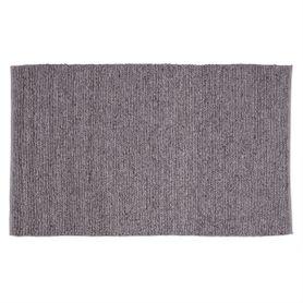 Tapis laine gris clair 170 x 120 cm Pava