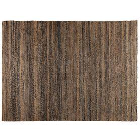 Tapis en chanvre naturel 160 cm Stripes