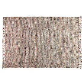 Tapis multicolore en laine 200 cm Tuco