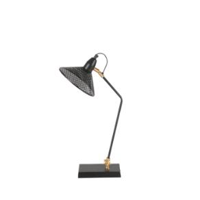 Lampe de bureau métal noir Desk